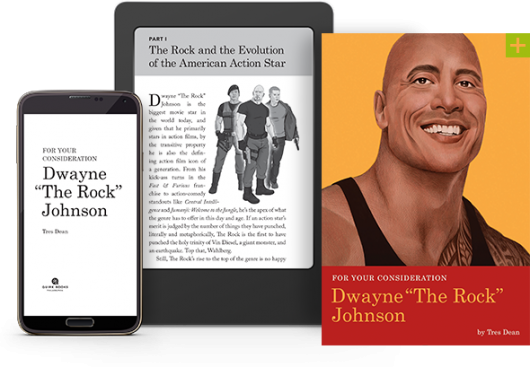For Your Consideration: Dwayne The Rock Johnson book banner