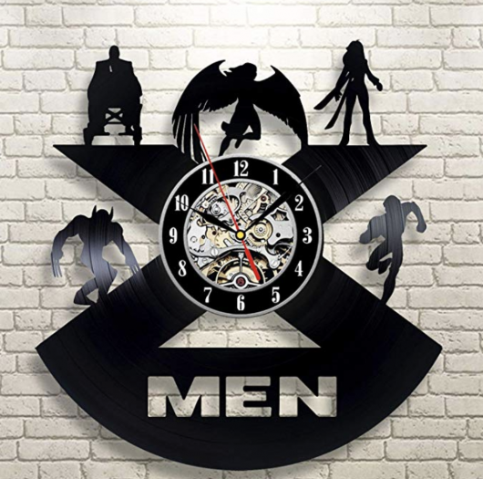 X-Men Vinyl Wall Clock
