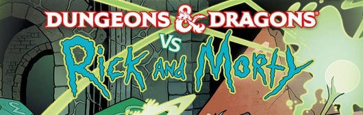 Dungeons & Dragons vs Rick and Morty header