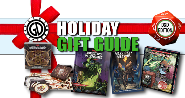 Holiday Dungeons and Dragons Gift Guide 2019