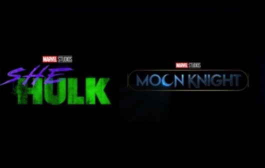 She Hulk and Moon Knight title cards